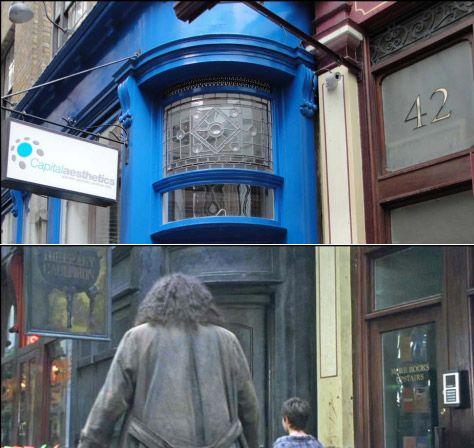 Подорож локаціями з книжки про Гаррі Поттера у Лондоні