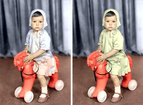 обробити фото з кольором