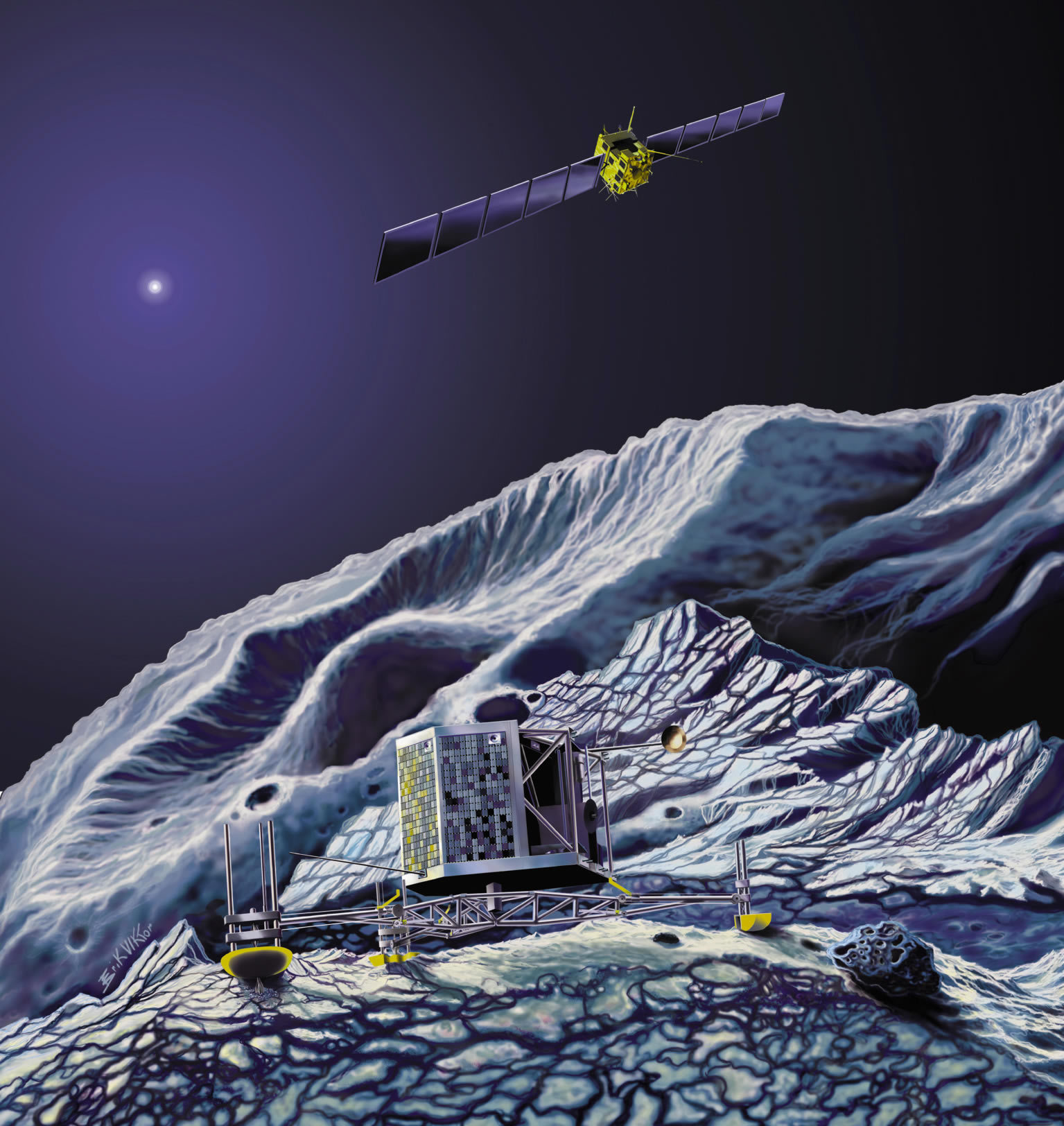 Rosetta-Churyumov-Gerasimenko