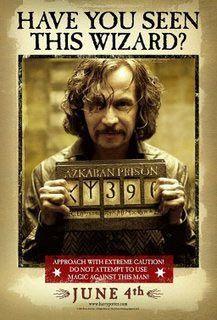 Гаррі Поттер і в'язень Азкабану - Сіріус